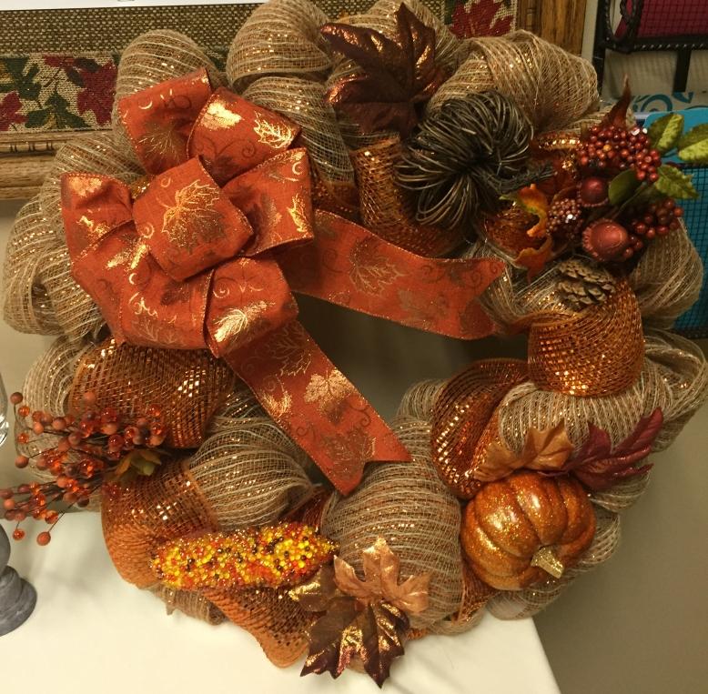 Fall Wreath $25